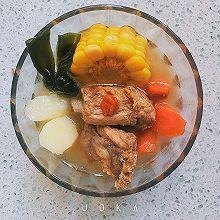 山药玉米海带排骨汤