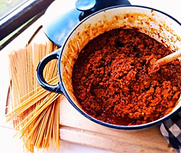 ragù alla bolognese 意式肉酱面的做法