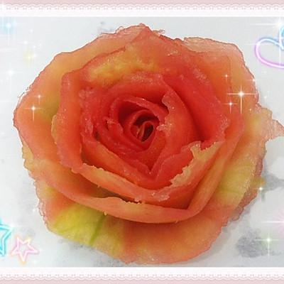 西红柿花(可以吃的玫瑰花)