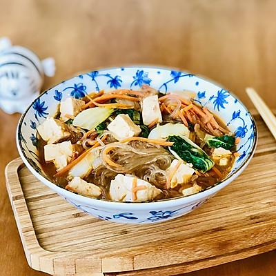 快手素味豆腐汤粉条