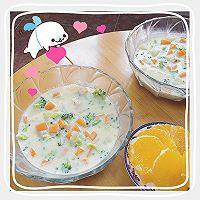 北海道芝士奶油蔬菜浓汤的做法图解5