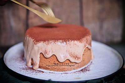 爆浆奶盖脏脏蛋糕