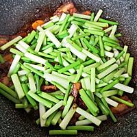 #肉食主义狂欢#蒜苔回锅肉的做法图解12