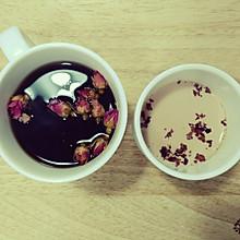 茉莉玫瑰红茶奶