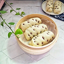 #年味十足的中式面点#红豆卷
