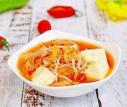 泡菜豆芽汤✧零油减肥餐的做法