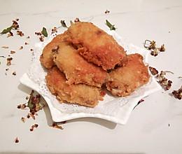 面包糠炸鸡翅#鲜香滋味,搞定萌娃#的做法