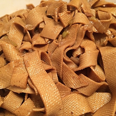 减肥素食—卤豆腐皮