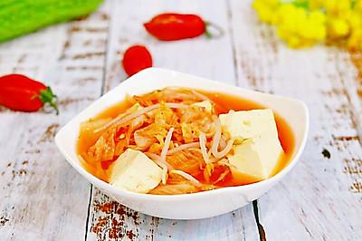 泡菜豆芽汤✧零油减肥餐