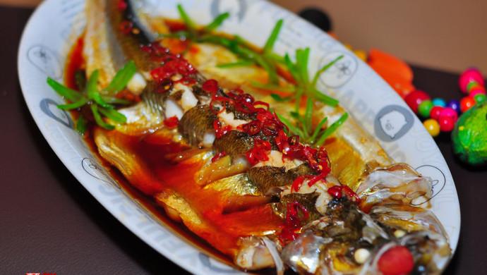 清蒸白水鱼