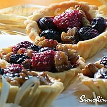 蓝莓核桃派#我的烘培不将就#