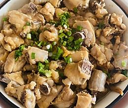 家常,黄花菜蒸鸡的做法
