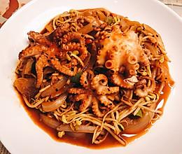 爱吃辣的不可错过的辣味小章鱼的做法