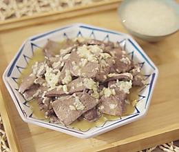 麻油猪肝【孔老师教做菜】的做法