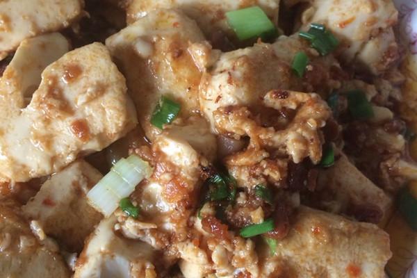豆酱豆腐的做法