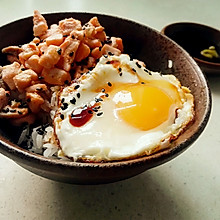 三文鱼蛋盖饭