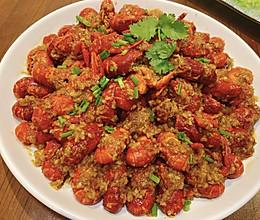 家庭版蒜蓉小龙虾美味不油腻,超好吃的教程来了的做法