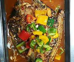 酱香味烤鱼的做法