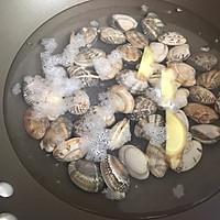冬瓜花蛤汤的做法图解2