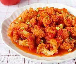 番茄菜花的做法