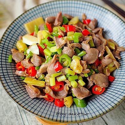 湖南|下饭菜|酸辣鸡杂