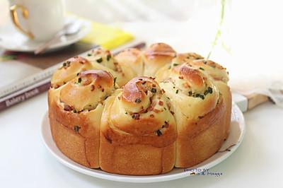 香葱培根面包圈