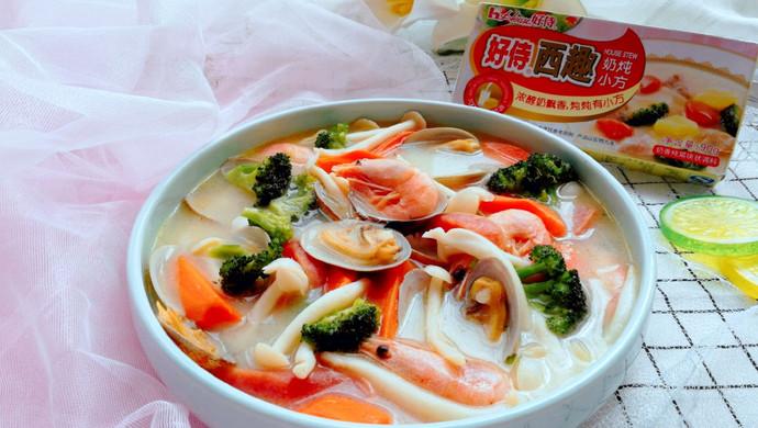【新品】花蛤蘑菇浓汤