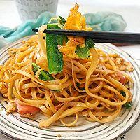 #快手又营养,我家的冬日必备菜品#快手炒面条的做法图解10