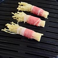 秘制金针菇肥牛卷的做法图解4