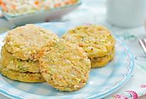 杂蔬米饼的做法