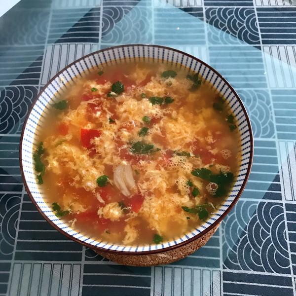 番茄鸡蛋汤的做法