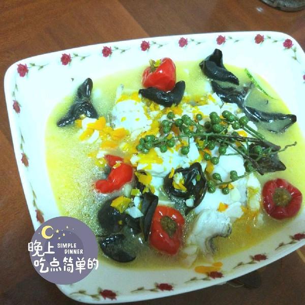 油淋椒麻鱼的做法