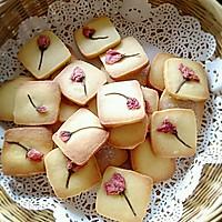 樱花杏仁饼干(啰嗦版)的做法图解18