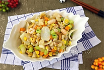 五彩松仁玉米#我要上首页清爽家常菜#的做法