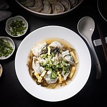 「上海的味道我知道」荠菜香菇猪肉馄饨