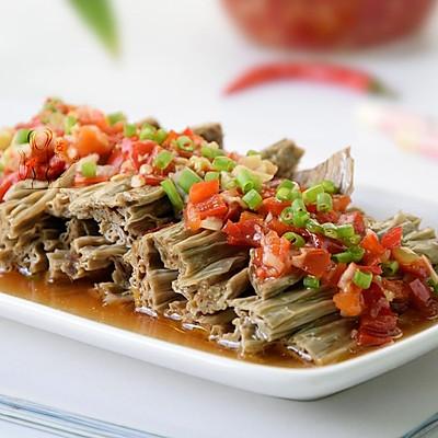 剁椒黑豆腐竹