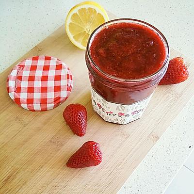 甜蜜的自制【草莓酱】✨