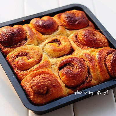 超愛的重口味的面包【肉桂卷】