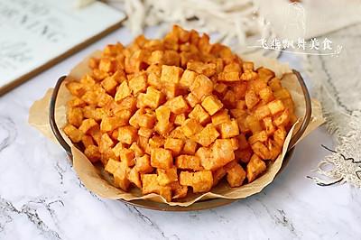 外酥里糯的红薯饼,香甜可口巨好吃!