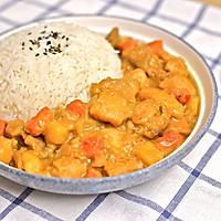 迷迭香美食  日式咖喱鸡饭的做法图解16