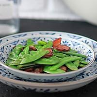 腊肉荷兰豆(九阳轻奢炒锅)