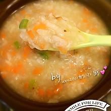 胡萝卜鸡肝粥