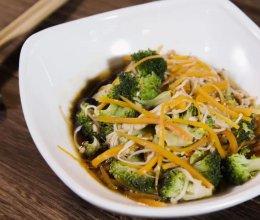 三步搞定超美味的蒸拌杂蔬,好吃又减脂!的做法