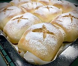 胖嘟嘟的日式软妹子面包—水合法揉面的做法