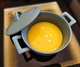 嫩滑的水蒸蛋,家里小宝宝一次可以吃一碗的做法