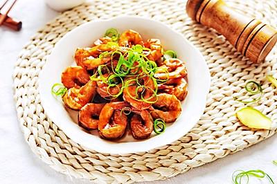 吮指美味少盐油焖大虾