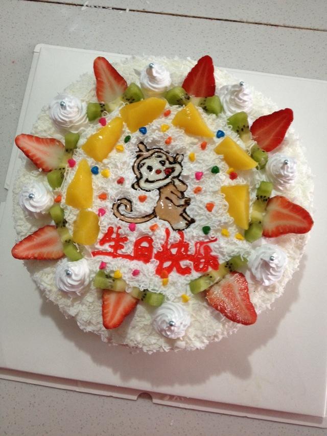 水果条_DIY水果生日蛋糕的做法_菜谱_豆果美食