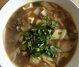 冬日暖阳——窜羊肉片汤的做法