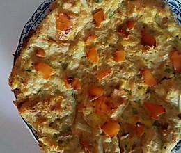 宝宝补钙食谱之鸡蛋虾皮土豆饼的做法
