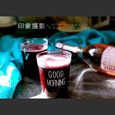 草莓桑葚汁